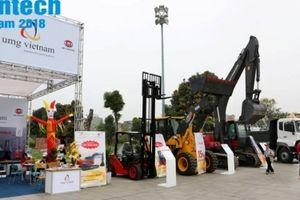 Contech Vietnam 2018, hiện diện nhiều Tập đoàn, doanh nghiệp cung ứng máy móc công trình 'khủng'
