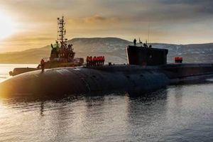 Sức mạnh tàu ngầm tuần dương mang tên lửa chiến lược Nga