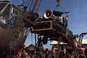 Ngạc nhiên: Mỹ lắp ráp trực thăng CH-54 ngay tại Việt Nam