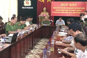 Khởi tố vụ án thảm sát bằng súng khiến ba người tử vong tại Điện Biên