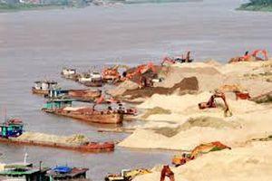 Xử lý nghiêm hành vi khai thác cát trái phép tại Vĩnh Phúc