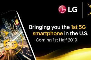 LG sẽ cung cấp smartphone 5G đầu tiên cho nhà mạng Sprint