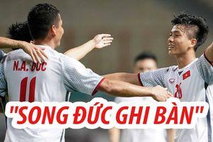 'Song Đức' tỏa sáng, Olympic Việt Nam thắng dễ Nepal 2-0