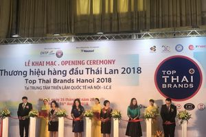 Khai mạc Triển lãm thương hiệu hàng đầu Thái Lan