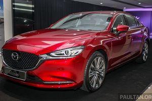 Hình ảnh thực tế Mazda 6 2018 vừa ra mắt tại Malaysia