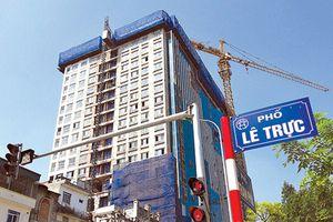 Hà Nội: Chủ cao ốc 8B Lê Trực dẫn đầu danh sách nợ tiền thuê đất