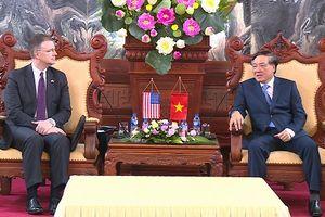 Chánh án TANDTC Nguyễn Hòa Bình tiếp Đại sứ Hoa Kỳ tại Việt Nam