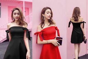Những mẫu váy dự tiệc dễ thương nhất giúp nàng ngực lép tự tin tỏa sáng