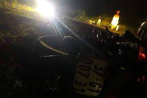 3 người thương vong do va chạm xe máy trong đêm