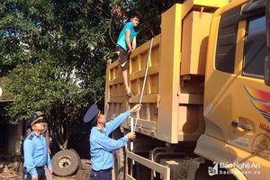 Xử lý 337 trường hợp vi phạm về tải trọng, kích thước thành thùng