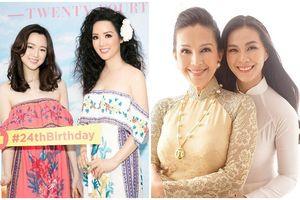 Đọ sắc hai cô con gái của giai nhân tên My: Là 'lá ngọc cành vàng', đẹp như Hoa hậu
