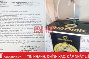 Lợi dụng quảng bá sản phẩm để bán máy lọc nước giá cao ở Hương Khê!