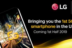 LG sẽ trình làng smartphone 5G đầu tiên tại Mỹ