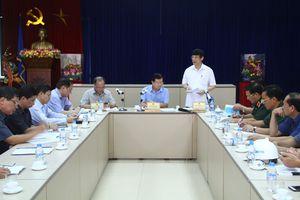 Phó Thủ tướng Chính phủ Trịnh Đình Dũng kiểm tra công tác ứng phó với cơn bão số 4 trên địa bàn tỉnh Thanh Hóa