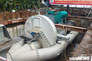 Ông chủ siêu máy bơm chống ngập ở TP.HCM xin ứng trước 30 tỷ đồng
