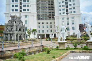Trung tâm thương mại Hòa Bình Green ở Đà Nẵng ngừng thi công, hơn 100 công nhân đòi trả lương