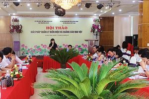 Hội thảo về giải pháp quản lý biển hiệu và quảng cáo rao vặt