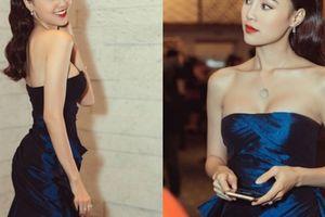 Ninh Dương Lan Ngọc bất ngờ đổi hình tượng sexy bằng váy cúp ngực trễ nải
