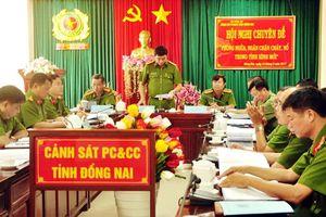 Sáp nhập các đơn vị, Công an tỉnh Đồng Nai có 8 PGĐ