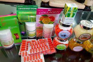 Thu giữ 220 thùng sản phẩm nhái hình dáng thực phẩm chức năng, thuốc