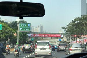 Giao thông ở Jakarta thông thoáng mùa ASIAD 2018