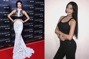Soi gu thời trang gợi cảm của 'quả bom sex' xứ Hàn khi xuất hiện ở phố đi bộ Hà Nội