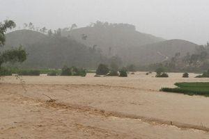 Mưa lớn, ngập lụt cục bộ tại huyện miền núi Nghệ An