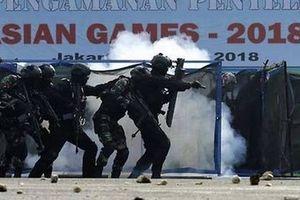 Triển khai cảnh sát tại Palembang để bảo vệ ASIAD 2018