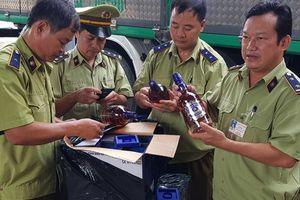Hà Tĩnh: Thu giữ 400 chai rượu Chivas, Baileys nhập lậu