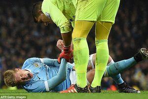 HLV Pep Guardiola đau đầu vì Kevin De Bruyne phải nghỉ thi đấu ba tháng