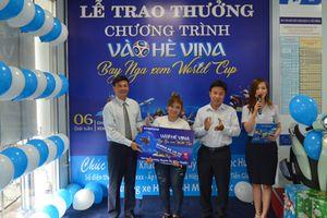 VNPT trao thưởng xe máy Honda SH Mode cho khách hàng may mắn tại Tiền Giang
