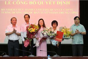 Báo điện tử Đảng Cộng sản Việt Nam lần đầu tiên có nữ Phó Tổng Biên tập