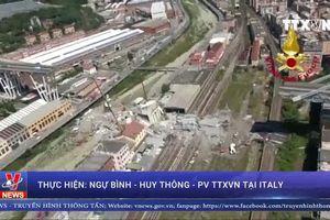 Vụ sập cầu cạn bộc lộ hạ tầng yếu kém ở Italy