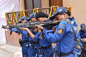 Lần đầu tiên Ấn Độ thành lập đội SWAT có toàn bộ thành viên là nữ giới