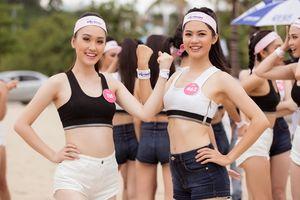 Thí sinh Hoa hậu Việt Nam 2018 đọ sức trong phần thi Người đẹp Thể thao