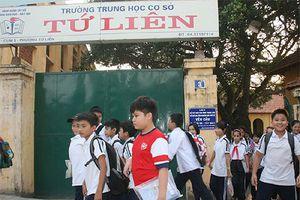 Học sinh Tứ Liên, Tây Hồ sẽ có ngôi trường riêng sau 25 năm học nhờ đình làng