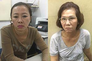 Bắt hai 'nữ quái' chuyên móc túi của du khách ở Trung tâm TP.HCM