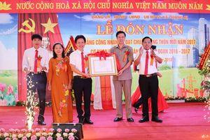 Huyện Chương Mỹ: Quảng Bị đón Bằng công nhận xã chuẩn nông thôn mới