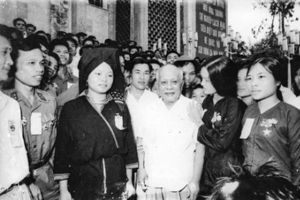 Ở vị trí nào, Chủ tịch Tôn Đức Thắng vẫn luôn là người công nhân đích thực