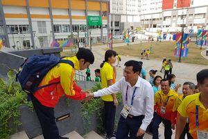 Bộ trưởng Bộ VHTTDL Nguyễn Ngọc Thiện tới thăm Làng VĐV
