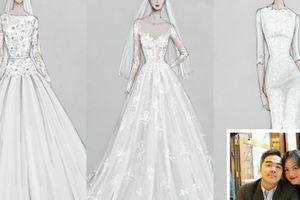 Hé lộ 3 chiếc váy cưới của Á quân Next Top đầu tiên Tuyết Lan