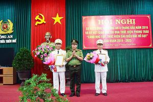 Công an tỉnh Thừa Thiên – Huế có 2 Phó Giám đốc mới