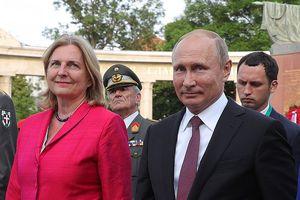 Dự đám cưới Ngoại trưởng Áo, ông Putin mang theo quà gì?