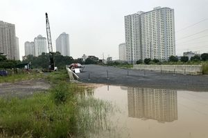 Đường nối Nguyễn Xiển - Xa La khó hoàn thành đúng tiến độ