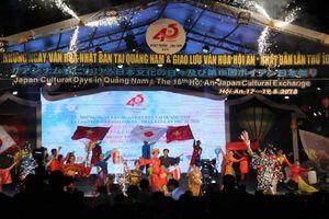 Tưng bừng với 'Những ngày văn hóa Nhật Bản tại Quảng Nam'