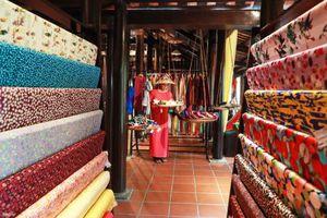 Giới thiệu lụa, thổ cẩm mới nhất của Việt Nam và Nhật Bản