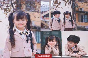 Hoa khôi nhí Tuyên Quang tiếp tục gây sốt cộng đồng mạng trong bộ đồng phục đẹp như nữ sinh Hàn Quốc