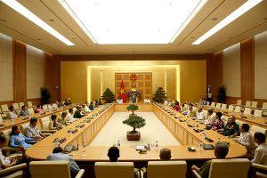 Phó Thủ tướng Vũ Đức Đam tiếp Đoàn người có công tỉnh Cà Mau