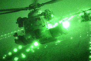 Hình ảnh máy bay trực thăng MH-53 của đặc nhiệm không quân Mỹ