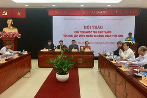 Chủ tịch Tôn Đức Thắng với giai cấp công nhân và công đoàn Việt Nam